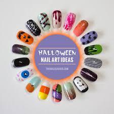 18 easy nail art ideas for halloween the nailasaurus uk nail