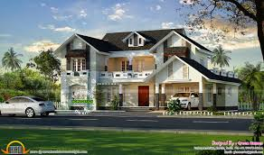Green Home Design Kerala Luxury European Style House Plans 98 For Modern Country House