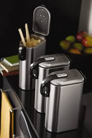 Stainless Steel Canisters Kitchen 63 Best Simple Kitchen Images On Pinterest