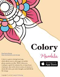 coloring book of art therapy colory mandala by izzy issuu