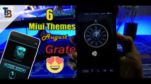 top 6 best new miui 8 9 themes 2017 just amazing on my