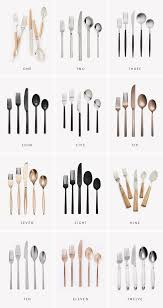 12 modern flatware sets almost makes perfect