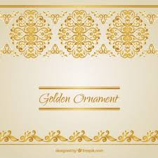 free vector golden ornaments 9420 my graphic hunt