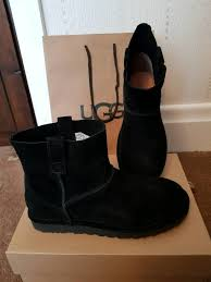 s ankle ugg boots s ugg boots unlined mini ankle black rrp 120 uk 8
