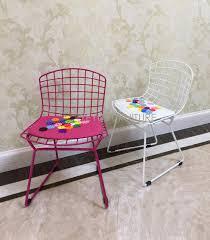 kids wire chair children bertoia chair minimalist modern baby