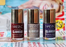 beauty u0026 le chic free nails inc with december u0027s glamour mag and