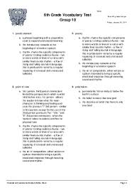 grade 10 vocabulary worksheets the best and most comprehensive