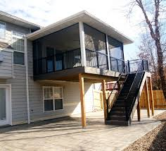 Wind Screens For Decks by Screened In Porches Make The Most Of A Deck Or Patio U2013 Trueson