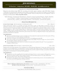 Clerk Responsibilities Resume Cover Letter For Accounts Payable Choice Image Cover Letter Ideas