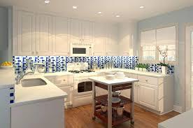 blue kitchen tile backsplash blue tile backsplash kitchen isidor me