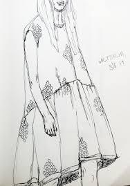 ss14 fashion sketching style u0026 influence