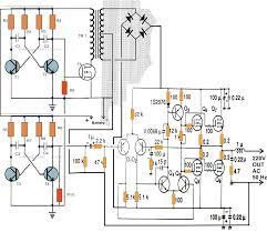 Cl 2 Transformer Wiring Diagram Pure Sinewave 200watt Inverter Circuit Diagram With Ic 555 100