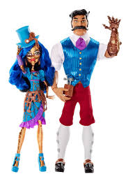 monster high sdcc 2016 robecca steam and father hexiciah u2013 zombuki
