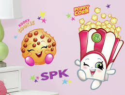 room mates poppy corn and kooky cookie shopkins peel and stick default name