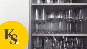 How To Set Up Your Kitchen by How To Organize Your Kitchen Dishware U0026 Glasses Tips And Tricks