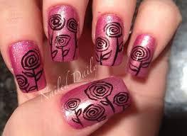 98 best flower nails images on pinterest make up flower nails