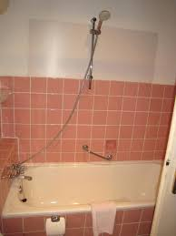 no shower curtain shower curtain liner bathroom ideas deny shower