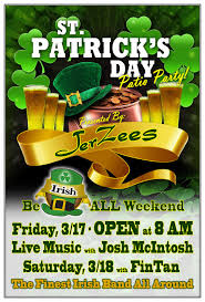 it u0027s the perfect storm u2026 st patrick u0027s day party patio and march