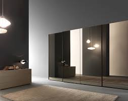 Champion Sliding Glass Doors by Presotto Wardrobe With Glass Sliding Doors Bronze Mirror