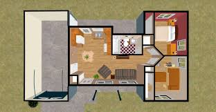 One Bedroom House Photos With Design Image  Fujizaki - One bedroom house design
