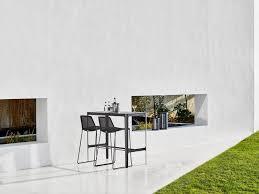 Aluminium Bar Table Cut Bar Table Elegant Aluminium Construction Danish Design By
