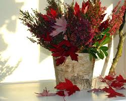 Birch Bark Vases Creative Fall Centerpiece Ideas