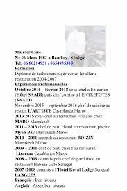 cherche chef de cuisine sous chef de cuisine annonce emploi à casablanca gobingo ma
