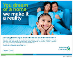 advertising standard chartered bank