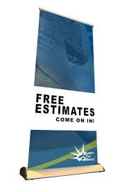 economy retractable pull up banner liberty tax free estimates
