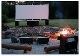Backyard Theater Ideas Diy Pvc Backyard Screen Anyone Else Want An Outdoor