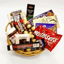 chocolate basket delivery 15 items chocolate basket flower delivery philippines