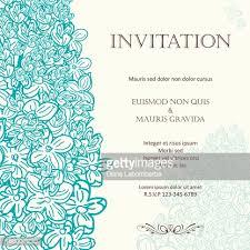wedding invitation background lilac floral wedding invitation background vector getty images
