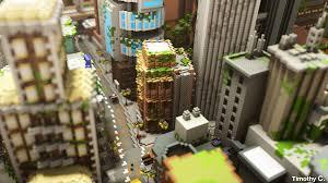 Minecraft City Maps Look At This Fantastic Minecraft City Kotaku Australia