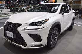 lexus crossover 2017 2018 lexus nx 300h f sport front three quarters at 2017 thai motor