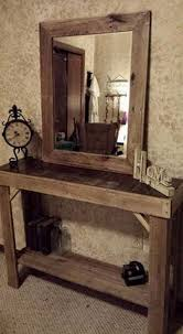 Entrance Way Tables by Best 20 Pallet Entry Table Ideas On Pinterest Diy Sofa Table
