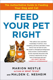food politics by marion nestle feed your pet right