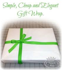 cheap gift wrap simple and cheap gift wrap a proverbs 31