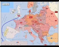 Europe Map During Ww1 Wwii Map Of Activity In Europe Youtube