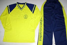 Seragam Sekolah Lengan Panjang baju olahraga seragam sekolah dan kantor