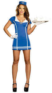 Candy Apple Halloween Costumes Women U0027s Dreamgirl Flight Attendant Costume Candy Apple