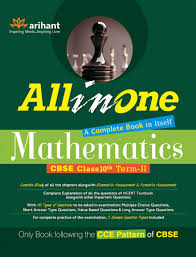 all in one mathematics cbse class 10th term ii only book