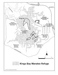 Citrus County Florida Map by Map Of The Emeregency Designated Kings Bay Manatee Refuge Expired