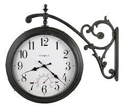 amazon com howard miller 625 358 luis indoor outdoor wall clock
