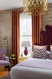 chambre couleur prune design interieur couleur prune tête lit prune noble rodeaux orange