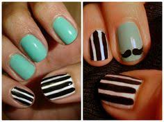 easy nail designs for short nails for beginners