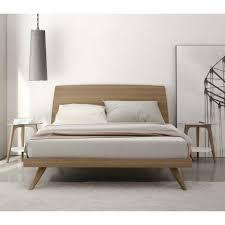 Platform Bed With Floating Nightstands Bed Frames Wallpaper High Definition Danish Modern Bedroom