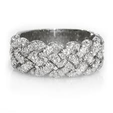 womens diamond wedding bands woven diamond wedding band for women diamond rings shop