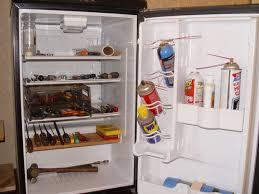 Cabinet For Mini Refrigerator Mini Fridge To Shop Cabinet 3 Steps