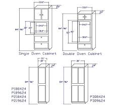 double oven cabinet width wall oven cabinet dimensions one linear inch of standard pantry and