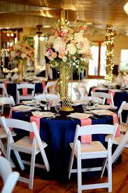 Coral Wedding Centerpiece Ideas by Navy And Coral Wedding Decorations 298